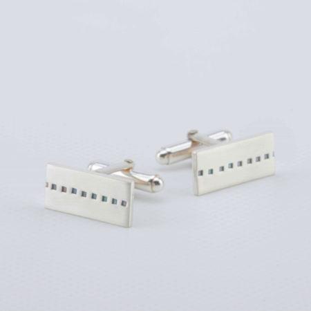 Julia Groundsell - Stamp cufflinks