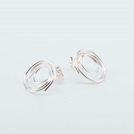 Julia Groundsell - Scrawl earrings