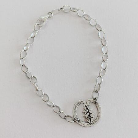 Oathill and Kinsfolk - oak leaf bracelet