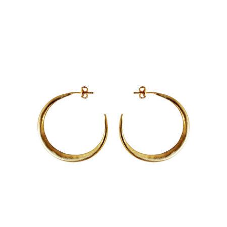 Eleni Koumara - medium hoop earrings